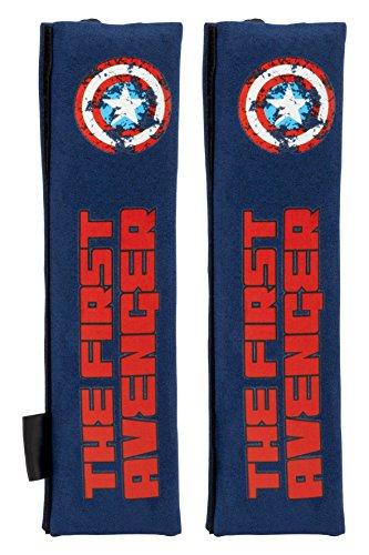 Captain America CAPA104 kussen, blauw, 2 stuks