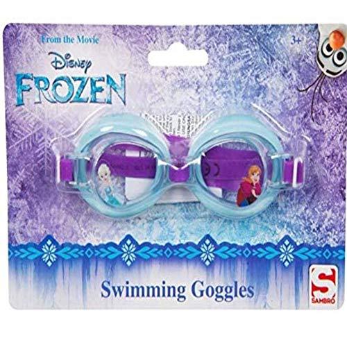 TV-24 Frozen Die Eiskönigin Schwimmbrille Unisex Kinder Jugend (Mehrfarbig) Einheitsgröße