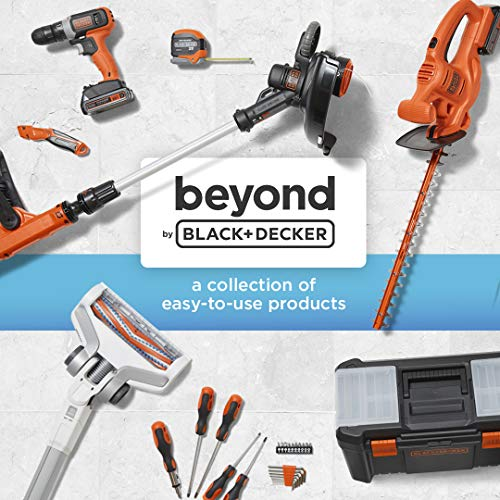 beyond by BLACK+DECKER 20V MAX Cordless Leaf Blower - Leaf Blower Kit - Axial, Battery and Charger Included - Lawn Tools (Model Number: BCBL700D1AEV)