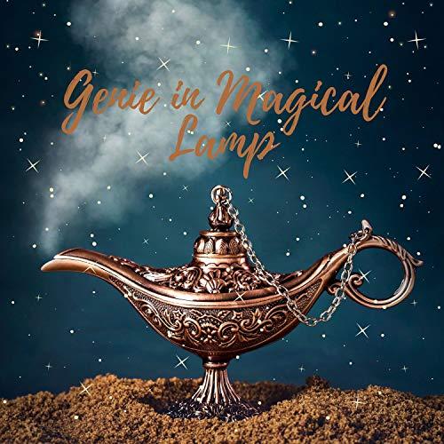 Genie in Magical Lamp