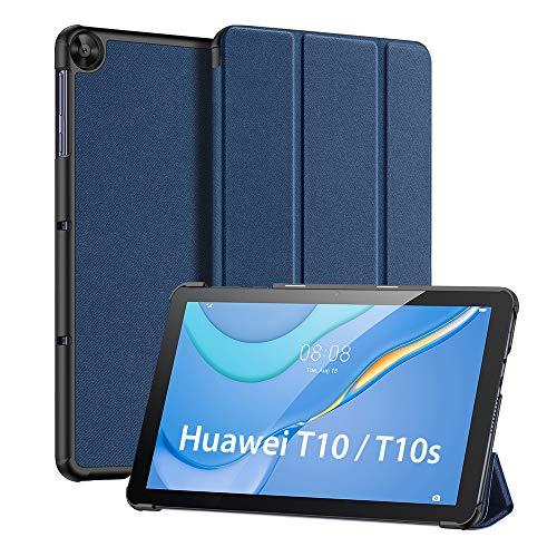 DUX DUCIS Hülle für Huawei MatePad T10 / T10s 2020, Ultra Lightweight Flip mit Ständer & Eingebautem Magnet Schutzhülle für MatePad T10s 10.1