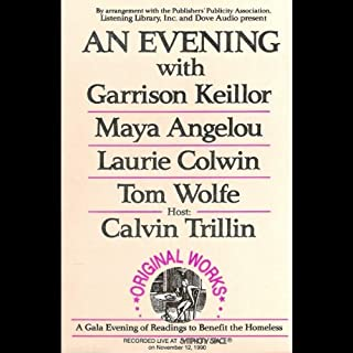 An Evening With Garrison Keillor, Maya Angelou, Laurie Colwin, Tom Wolfe and Calvin Trillin cover art