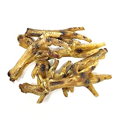 Dragonfly Products Chickens Feet for Dogs – Natural Dried Grain Free Treat EU Produce (20 pieces Approx 350g)