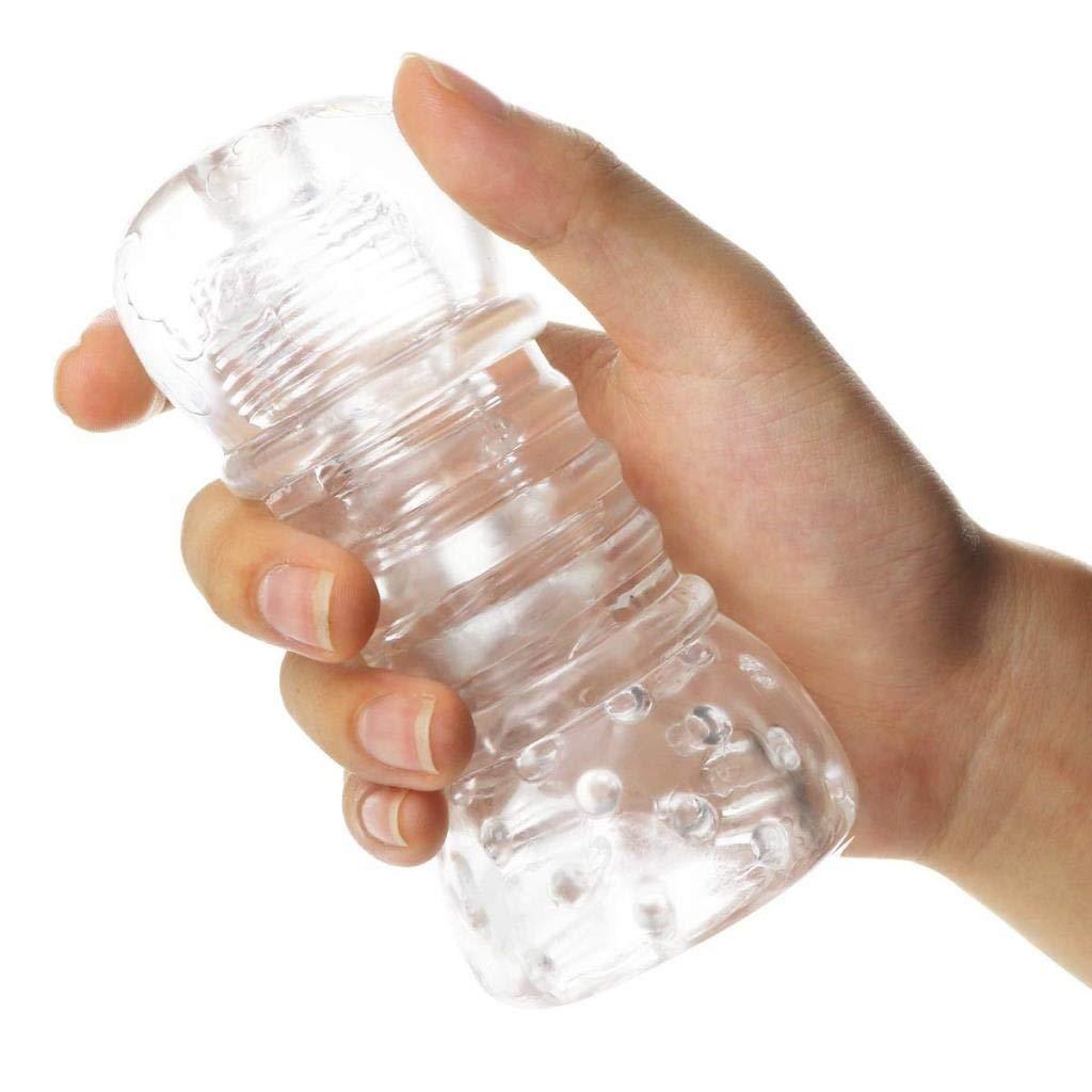 ポンドふくろう敷居DFChenXi シリコーンスリーブハンドヘルド男性耐久トレーナー柔らかい環境に優しいmaterialss防水マッサージャー伸縮性 カップ