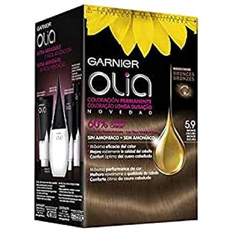 Garnier Olia Coloración permanente sin amoniaco con aceites florales naturales - Tono: Bronce Puro 6.9