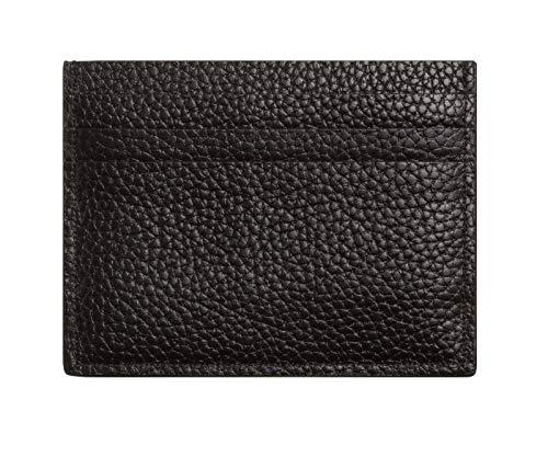 Calvin Klein Pebble Cardholder - Portafogli Uomo, Nero (Black), 7.8x11x1.2 cm (B x H T)