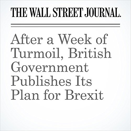 After a Week of Turmoil, British Government Publishes Its Plan for Brexit copertina