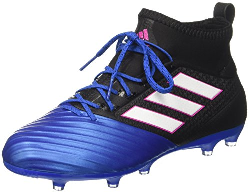 adidas Herren Ace 17.2 Primemesh Fußballschuhe, Schwarz (Core Black/FTWR White/Blue), 46 EU