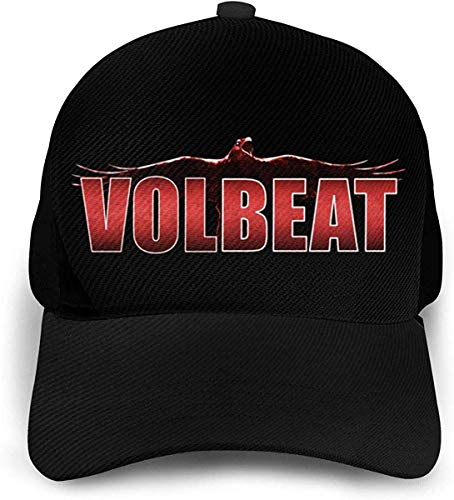 NR Volbeat Fashio Baseball Cap Herren Damen Hut Verstellbar Schwarz