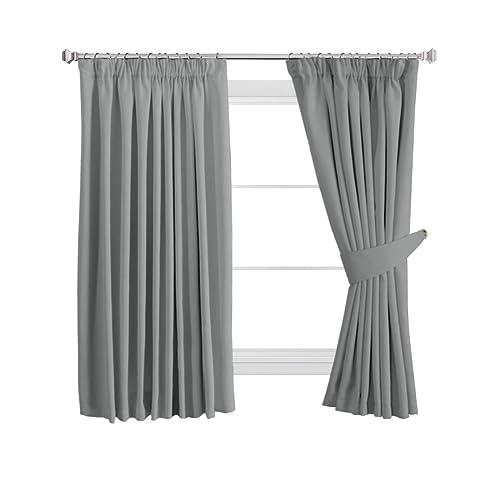 Superb Curtains Bedroom Pencil Pleat Amazon Co Uk Download Free Architecture Designs Intelgarnamadebymaigaardcom