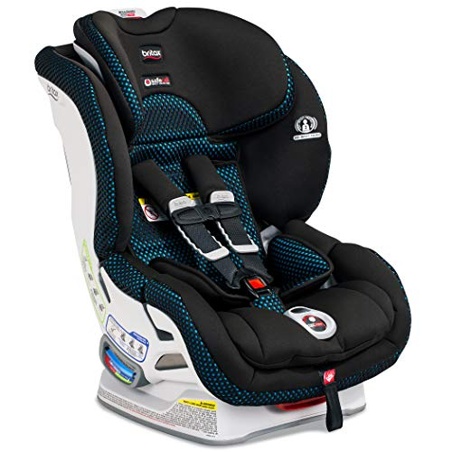 Britax Boulevard ClickTight Convertible Car Seat | 2 Layer Impact Protection - Rear & Forward Facing - 5 to 65 Pounds + Cool Flow Ventilating Fabric, Cool Flow Teal