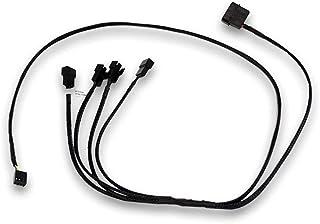 EK Water Blocks 3831109867808 Cable de alimentación Interna 0,8 m - Cables de alimentación Interna (0,8 m, 4 x 4-Pin PWM, 4-Pin PWM + Molex (4-Pin), Macho/Hembra, Derecho, Derecho)