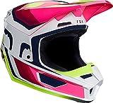 Fox V1 Tro Helmet Yellow L