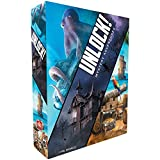 UNLOCK! Mystery Adventures Card Game   Escape Room Games for Adults and Kids   Mystery Games for Family Game Night   Ages 10 and up   1-6 Players   Average Playtime 1 Hour   Made by Space Cowboys
