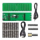 Nobsound 16×16 LED Audio Spectrum Level Indicator VU Meters Music Display Screen Analyzer for Amplifiers Audiospektrum (DIY Kit)