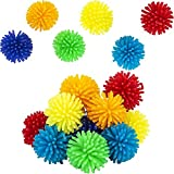 The Dreidel Company Mini Spiky Porcupine Hedge Balls, Ideal Sensory Toy, Unique Rubbery Texture, 1.30' Inches (12-Pack)