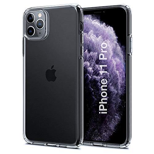 Preisvergleich Produktbild Hülle für iPhone 11 Pro Hülle Silikon Handyhülle Transparent Case Kompatibel mit iPhone 11Pro,  Ultra Dünn Weich TPU Handyhülle Stoßdämpfend Anti-Fingerabdruck Kratzfest für iPhone 11 Pro,  Klar