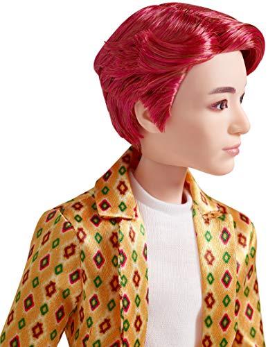 Mattel BTS - Muñeco Jung Kook, figura de colección, miembro banda coreana de K-pop ( GKC87)