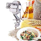 RRH Press Pasta Machine Hand Crank Cavatelli Maker Gnochetti Makers for Authentic Spaghetti...