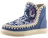 MOU Summer Eskimo Sneaker Denim Flow - Botas...