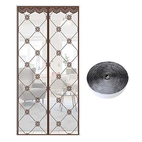 Door curtain Porte Moustiquaire Magnétique, Ventilation d'été moustiquaire à Mailles Ultra-Fines, à l'abri des moustiques, utilisé dans Le Balcon Salon Chambre Chambre d'enfant
