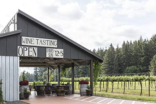 18 x 24 Ready to Hang Canvas Wrap of Vines and Wine-Tasting shed at The Shilstone Wines Vineyard Near Dayton in Oregon's Willamette Valley g39 2018 Highsmith