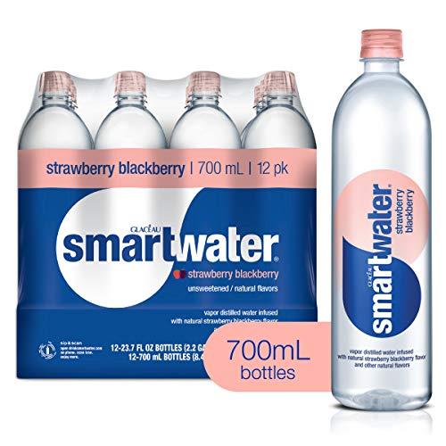 smartwater Strawberry Blackberry, Vapor Distilled Premium Bottled...