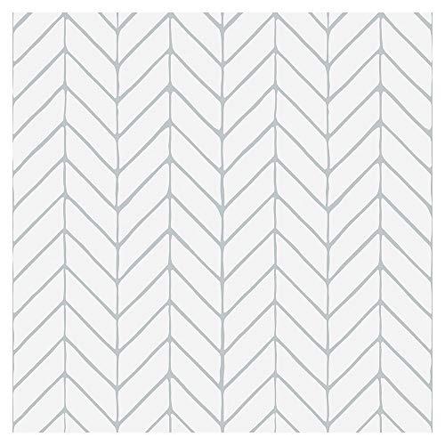 murando Tapete selbstklebend 10m Wandtattoo dekorative Möbelfolie Dekorfolie Fotofolie Panel Wandaufkleber Wandposter Wandsticker - geometrisch f-A-0801-j-a
