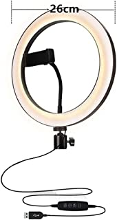 planuuik Fotografía Selfie Ring Light Lámpara de teléfono con cámara Regulable para Video de Maquillaje