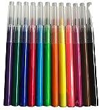 Splat Planet Paquete de 12 recambios lavables para pluma de graffiti, aerógrafo para niños, pintura y coloración