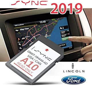 CleverDeal A10 2019 Ford & Lincoln GPS Navigation SD Card MAP Update SYNC Updates A9 US,CAN