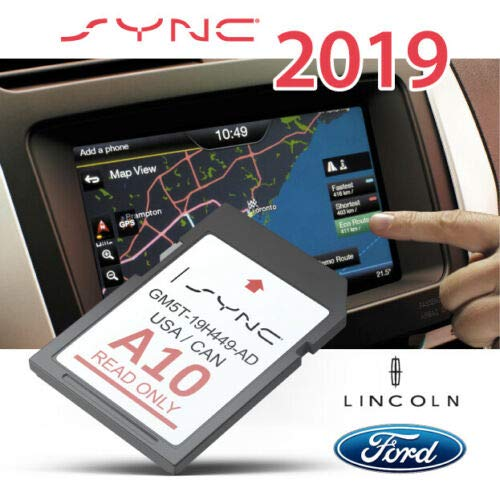 A3 Ford lincoln Navigation SD card Map Chip , SYNC MyFord