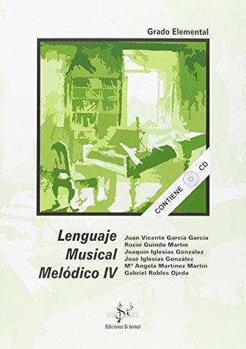 Lenguaje musical melódico IV, grado elemental