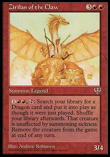 Magic The Gathering - Zirilan of The Claw - Mirage