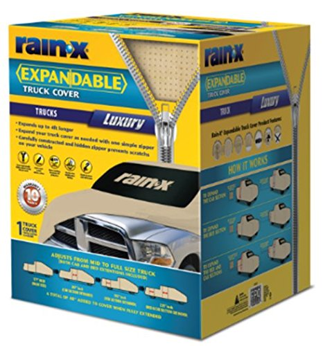 Rain-X 805987 Zip Fit Truck Cover- Luxury, 1 Pack