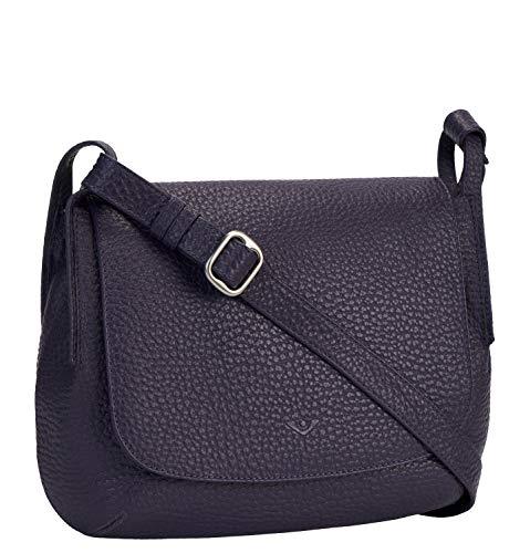 VLD Voi Leather Design Voi Überschlagtasche 21910 Rindleder Damen: Farbe: Purple