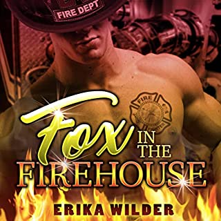 Fox in the Firehouse audiobook cover art