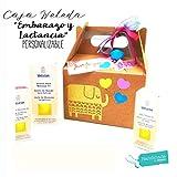 Set Regalo 'Embarazo y Lactancia' con Productos WELEDA | Regalo para Embarazadas o Mamás | PERSONALIZABLE con Productos BIO 100% naturales y accesorios PREMIUM | Romantic Gift Idea for Mums and Women