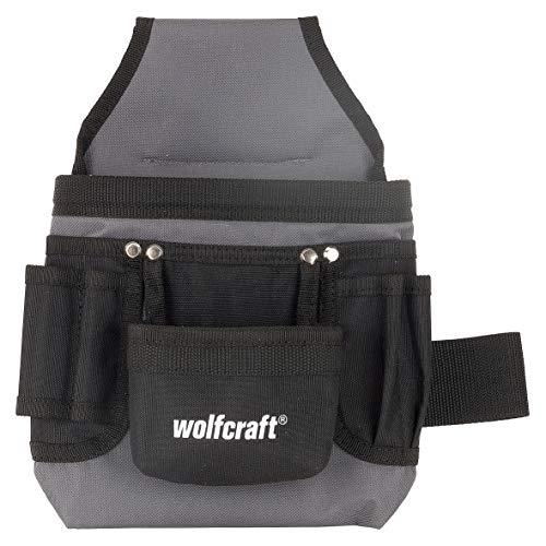 Preisvergleich Produktbild Wolfcraft 5584000 Werkzeugtasche - zum Griffbereiten mit führen Am Gürtel