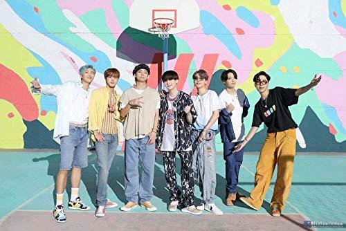 Puzzle 1000 piezas Arte pintura estrella coreana grupo BTS chico lindo puzzle 1000 piezas adultos Juego de habilidad para toda la familia, colorido juego de ubicación. Rompeca50x75cm(20x30inch)