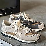 Aerlan Trail Running,Zapatos para Correr, Calzado Deportivo para Hombre, Zapatos de Senderismo Casuales-Gris_38,Calzado Deportivo Hombre Mujer