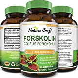 Best Forskolin Supplements - Natures Craft Pure Forskolin Extract for Weight Loss Review