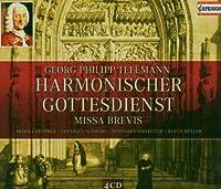 Harmonischer Gottesdie by G.P. Telemann (2008-04-08)