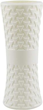 123 Life Vases en plastique pour fleurs, vase moderne géométrique, durable, moderne et décoratif pour salon, bureau, décorati