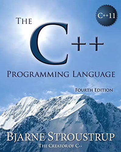 Compare Textbook Prices for The C++ Programming Language 4 Edition ISBN 0000321563840 by Stroustrup, Bjarne