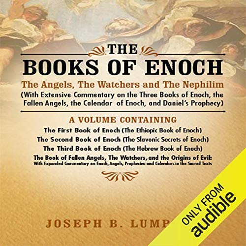 『The Books of Enoch: The Angels, The Watchers and The Nephilim』のカバーアート