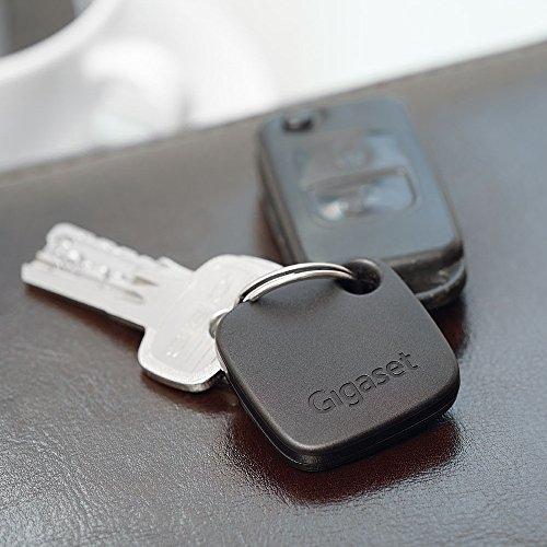 Gigaset Lot de 5 G-Tags Porte-clés connectés Noir/Blanc/Roug