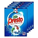 Bio Presto detergente en polvo–5paquetes de 1100gr