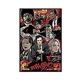 Tarantino Quentin Leinwand-Poster, Schlafzimmer,