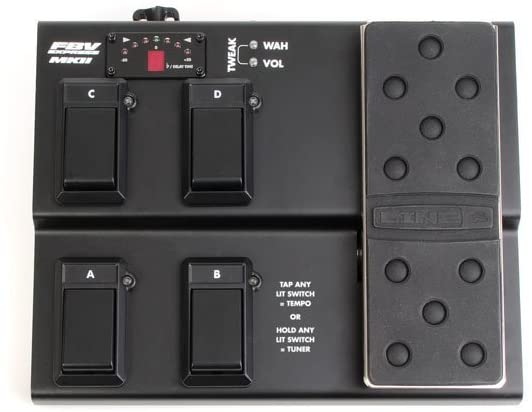Line 6 FBV Sales of SALE items from new works Express Controller MkII 4-button In a popularity Foot